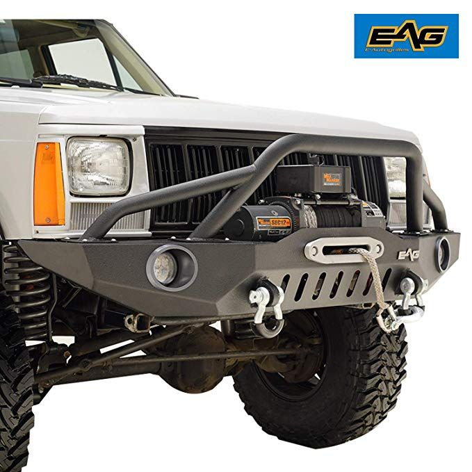 Eag 83 01 Jeep Grand Cherokee Xj Offroad Front Bumper With Pre