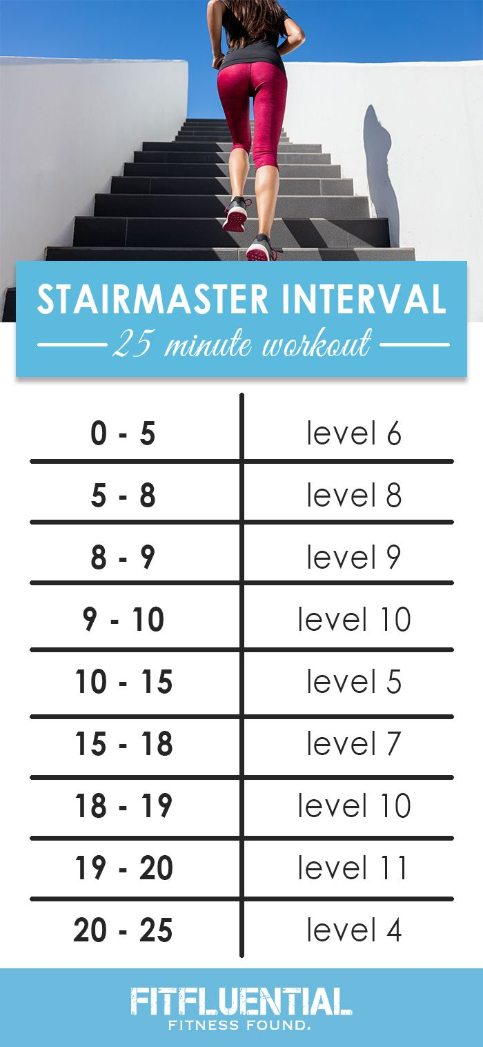 STAIRMASTER workout
