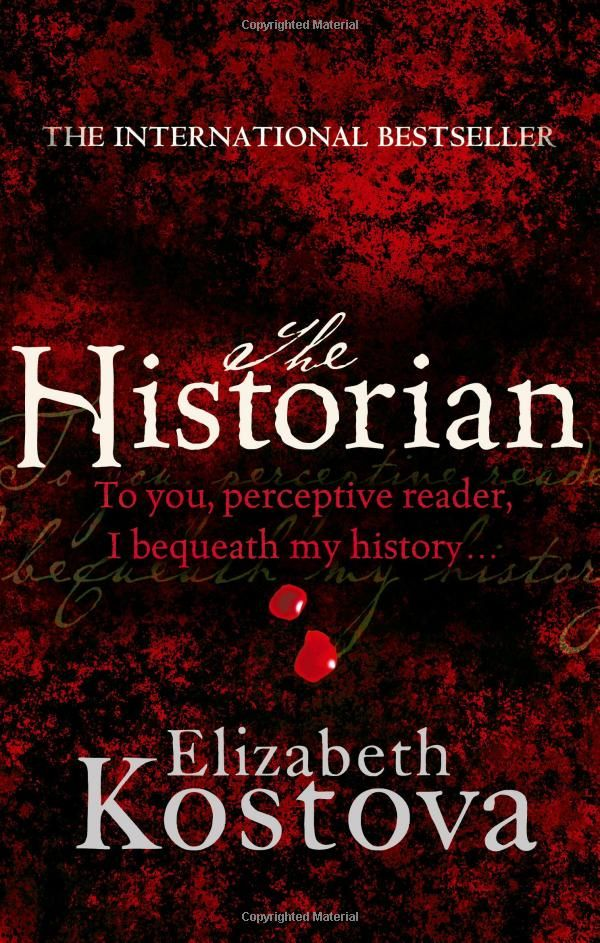 The Historian by Elizabeth Kostova : | Books Worth Reading | Pinterest