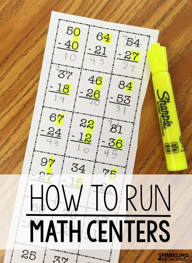 Math centers can be a challenge. See how organize my centers and changed how I run my math centers in my first grade classroom in a way that saved my sanity!