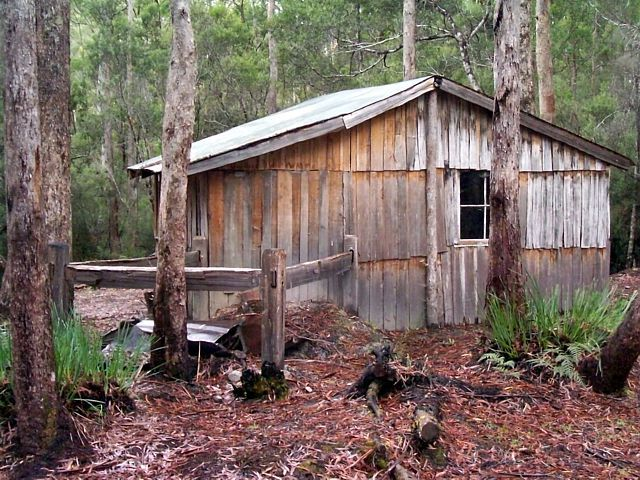 tasmanian mountain huts churchills hut sheds shacks cabins