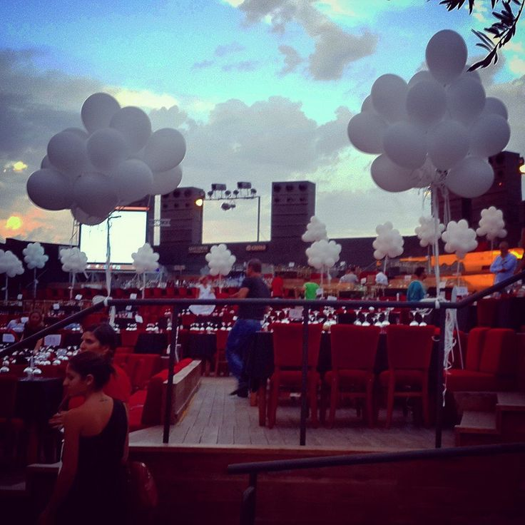 Outdoor Decoration, Clouds Shaped Balloons,  Creative Ideas