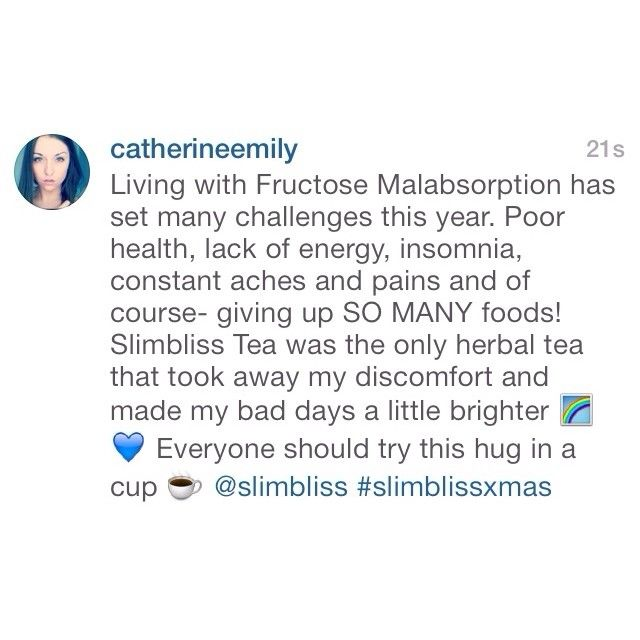 Give your digestive system a big hug just like our client @Catie @ Catie's Corner ☀️ Thank you for sharing your feedback with us  Living with bloating and discomfort after meals is not the norm! Let SlimBliss assist in restoring balance to your digestive system