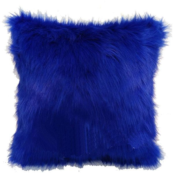 Royal Blue Faux Fox Fur Pillow Cover Sided Fur Pillow Cover ($20) ❤ liked on Polyvore featuring home, home decor, throw pillows, items, array0x14b61908, filler, fox throw pillow, royal blue accent pillows, fur throw pillows and fox home decor