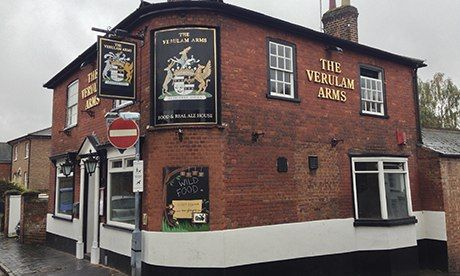 Best local pubs:  Verulam Arms, St Albans, and others