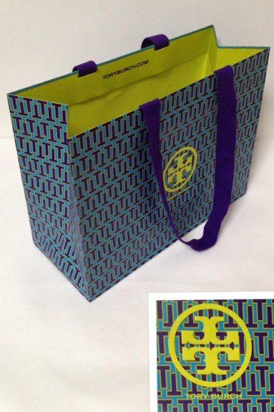 TORY BURCH ショップ紙袋◆メール便可能◆_画像1
