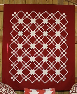 Love red quilts!!