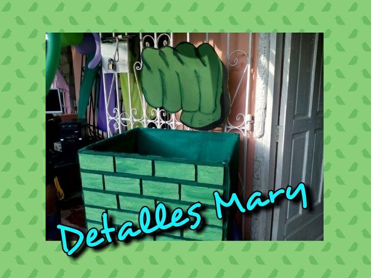 Caja de regalo de hulk