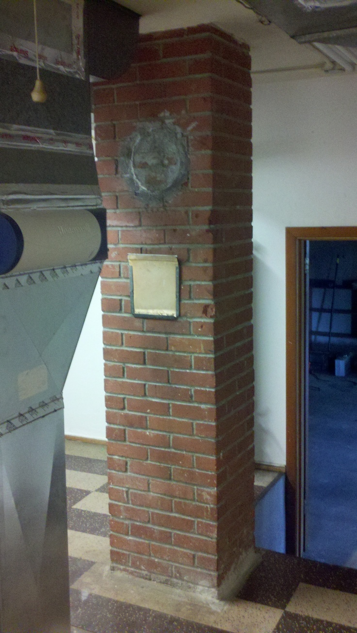 Chimney to be removed to allow expansion of bathrooms & closet.