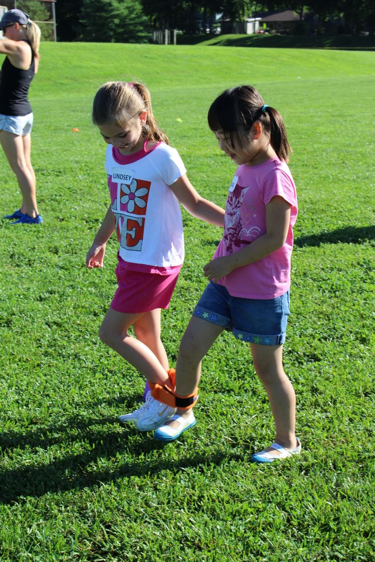 2013 Movers and Shakers Club participants enjoyed a Field Day at Anchor Park.