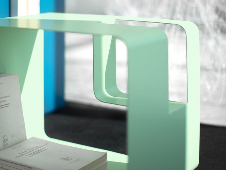 Coffe table magazine rack and bedside table libris by meme design