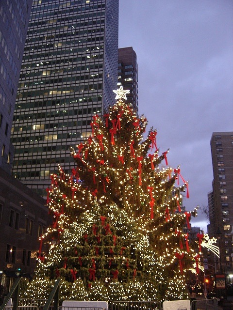 Christmas in South Street Seaport, New York
