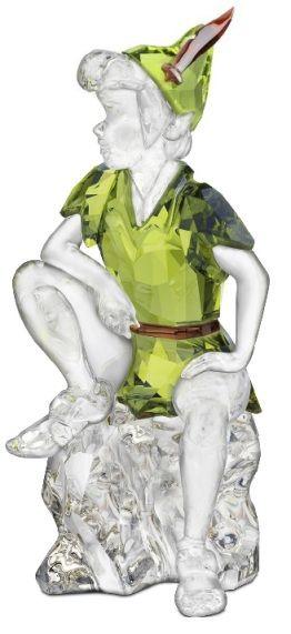Swarovski Disney Peter Pan.  Swarovski Crystal Figurine.