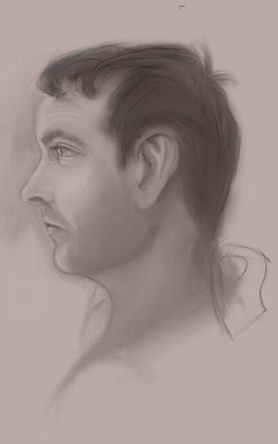 Digital sketch of Eddie
