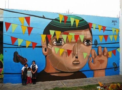Jade – Un Gigante en el Barrio New Mural @ Lima, Perú | Ozarts Etc