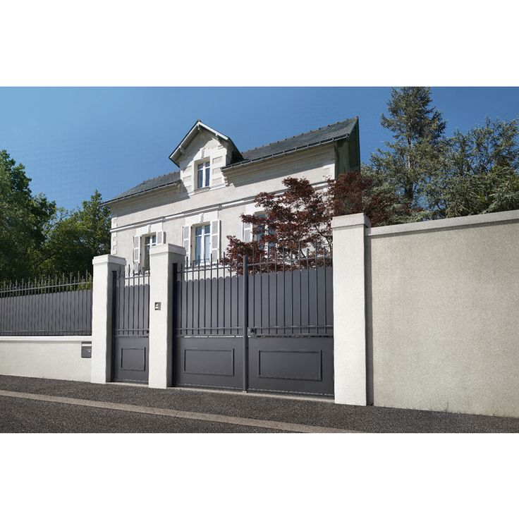 Portail aluminium brico depot catalogue brico dpt au mai with portail aluminium brico depot - Cloture alu brico depot ...