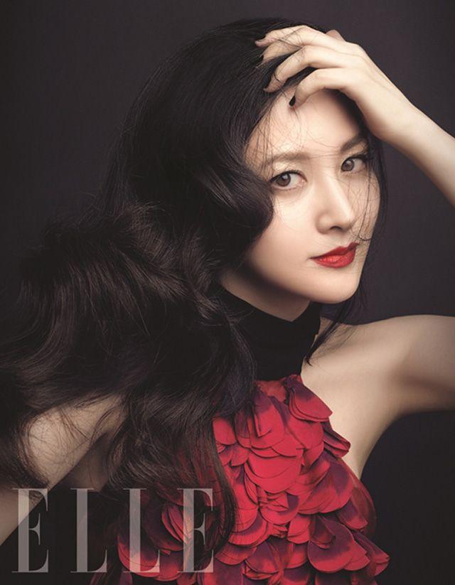 Lee Young Ae Elle Magazine November 2011