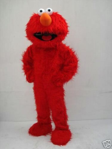 Kids Party Clowns for Hire - Houston TX Elmo Costume Character and Elmo moonwalks