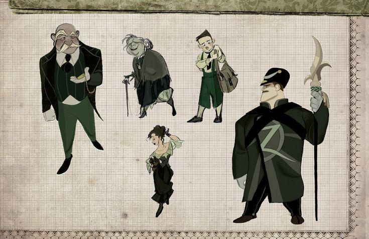 Veteran Animator Shows off His Student Portfolio: an Animated Wicked Movie   Page 2   The Mary Sue