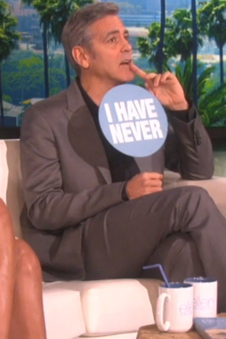 "Rihanna and George Clooney Spill Their Darkest Secrets in a Game of ""Never Have I Ever"""