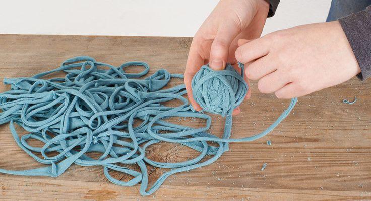 Textilgarn selber machen                                                                                                                                                     Mehr