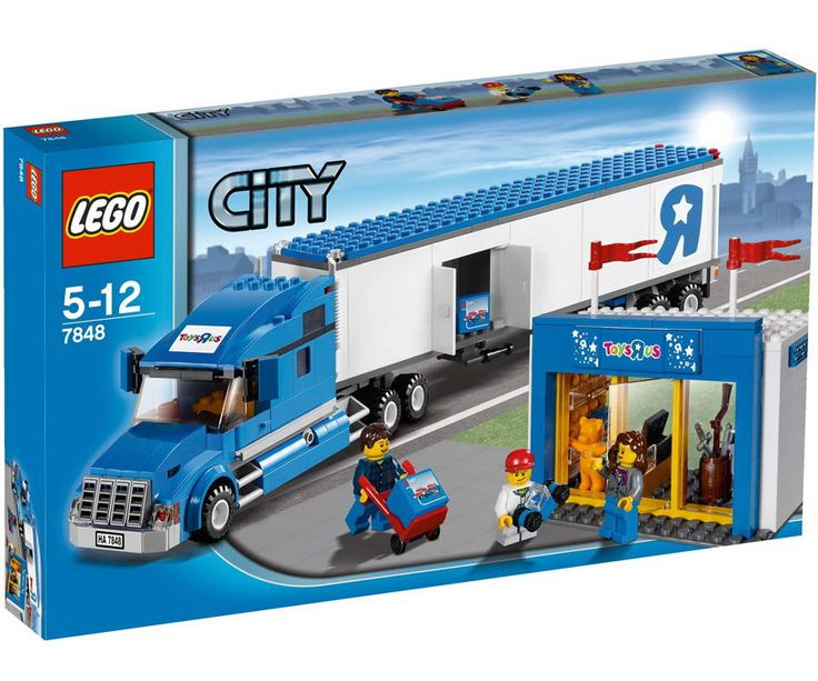 lego city toysrus truck (7848) box - Google Search