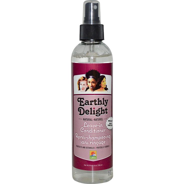 Earthly Delight Hair Care, Leave-In Conditioner, 8 oz (236 ml)