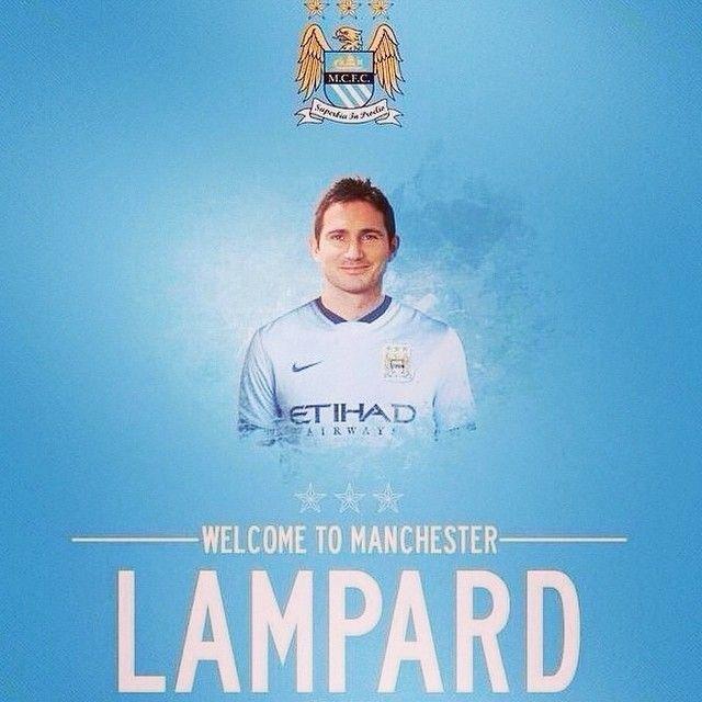 UFFICIALE: #Lampard giocherà con il #MCFC in prestito per i prossimi sei mesi. Il centrocampista ex #CFC ha firmato con la formazione di #NewYorkCity, che è dello stesso presidente del #City. // OFFICIAL: Lampard will play for MCFC on loan for the next six months. He had signed a deal with New York City, but will now be loaned to the Citizens for a semester.