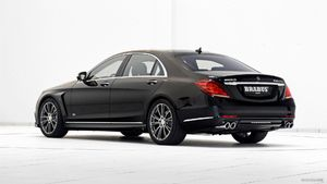 2015 BRABUS PowerXtra B50 Hybrid based on Mercedes S500 Plug-In Hybrid  - Rear - Picture # 6