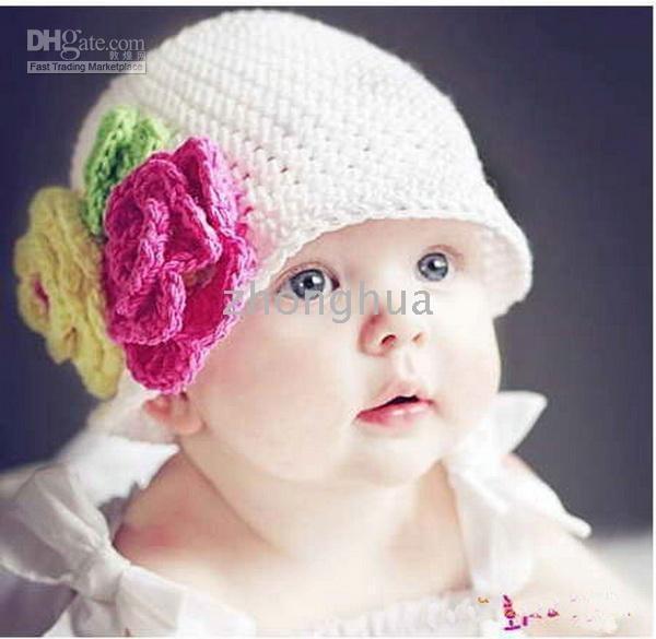 Gorros Para Bebé De Ganchillo en Pinterest | Sombreros De ...
