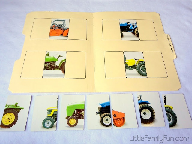 Little Family Fun: File Folder Games