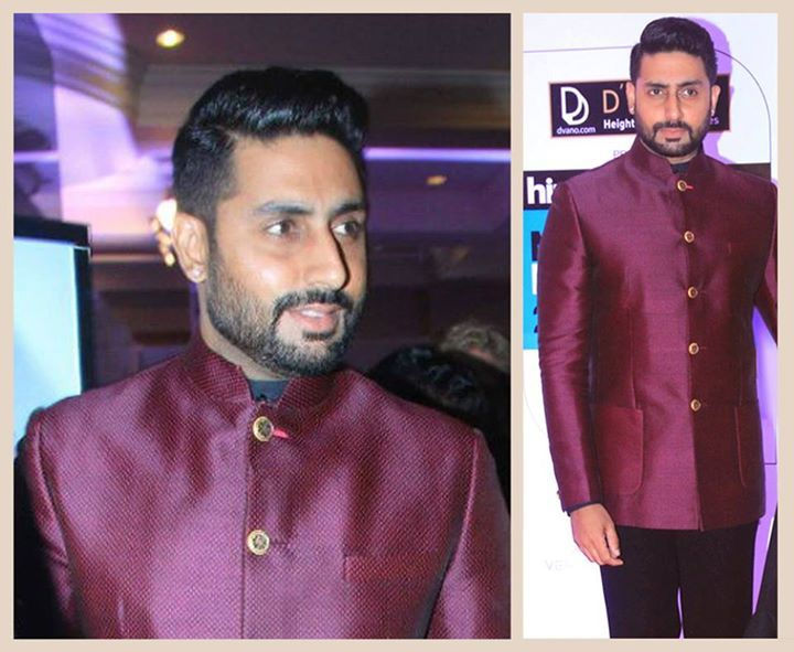 Crafted with bespoke tailoring #AbhishekBachchan #spotted in Shantanu & Nikhil Signature Bandhgala at #HTStyleAwards . The actor depicts a classic picture of contemporary style with sharp strucutre #ShantanuNIkhil #SpringSummer15