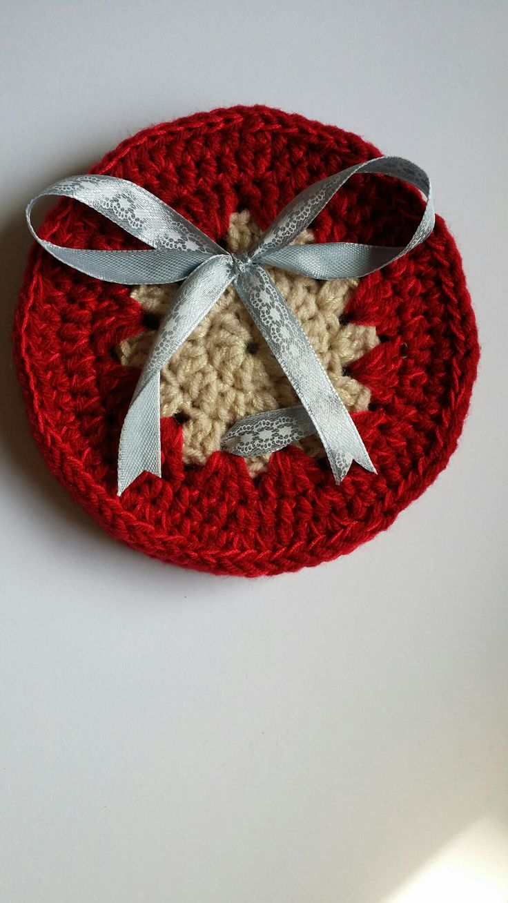 Crocheted coaster from D'amaya