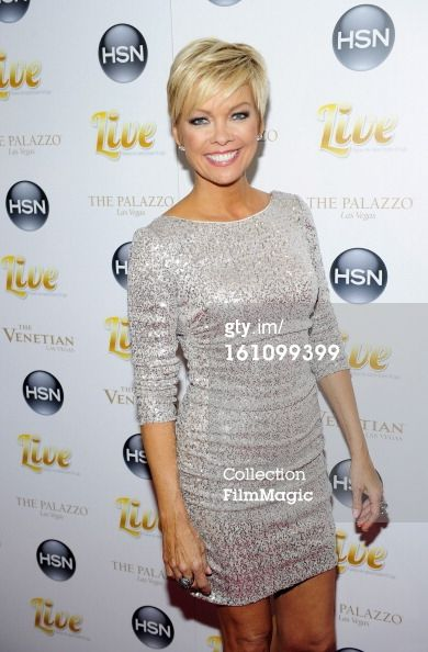 Callie Northagen short hair | Caption: LAS VEGAS, NV - FEBRUARY 08: HSN host Callie Northagen ...