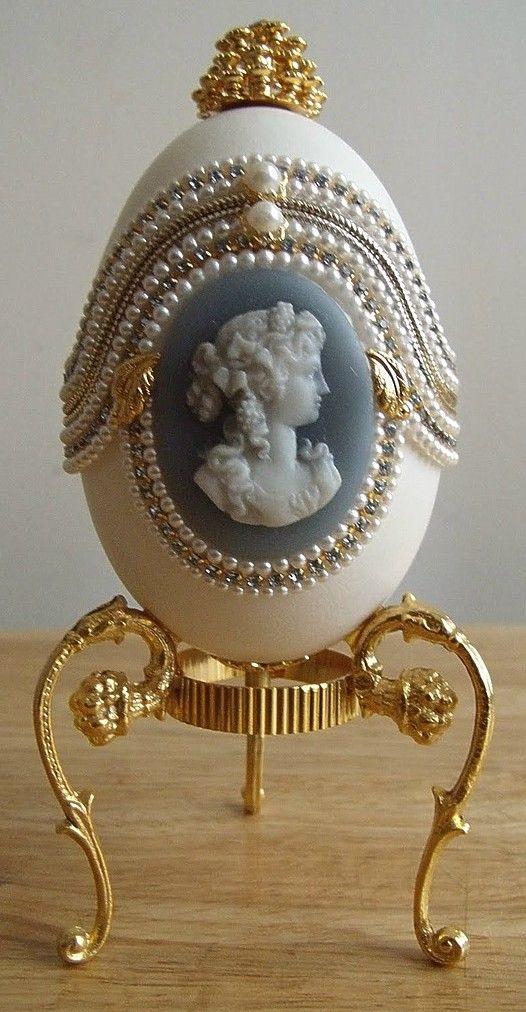 Collectibles Mercantile: Egg Fantasy Goose Egg Music Box
