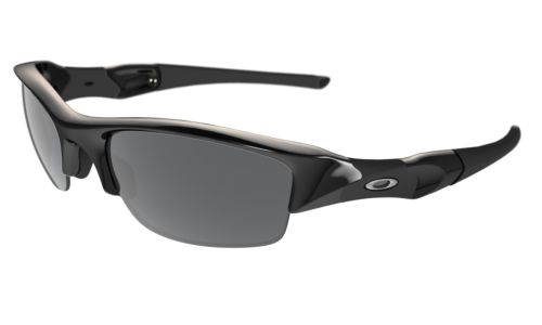 oakley flack jacket xlj black iridio polarized