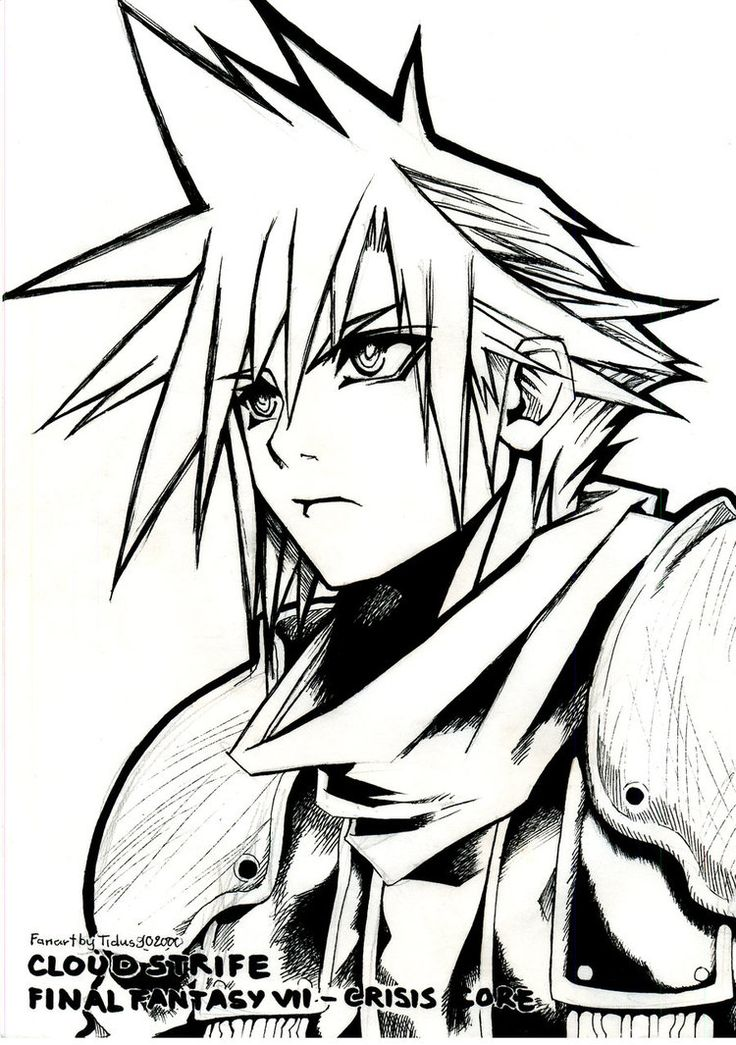 Manga - Coloring Pages & Pictures - IMAGIXS