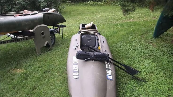 My Motorized Mokai Kayaks