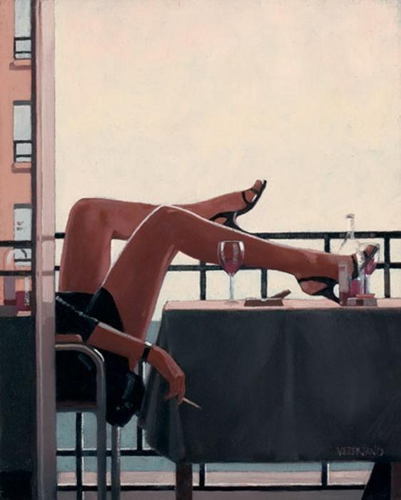 Jack Vettriano 23  - Paintings by Jack Vettriano  <3 <3