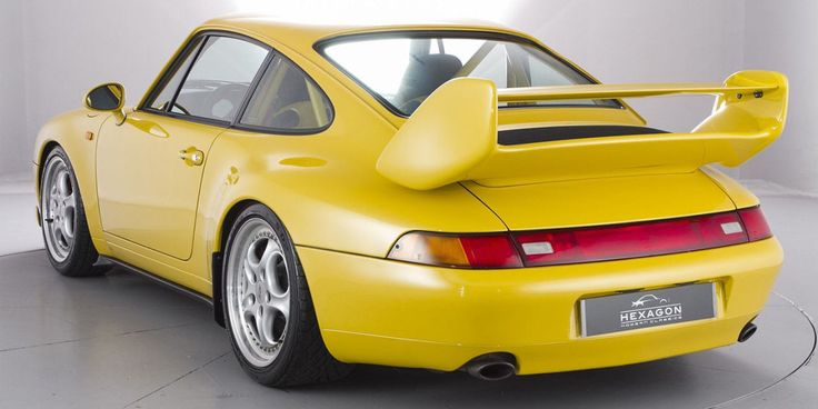 A Rare Porsche 993 RS 3.8 Club Sport Is for Sale and of Course It's Half a Million Dollars