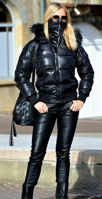Womens Black Anorak Jacket