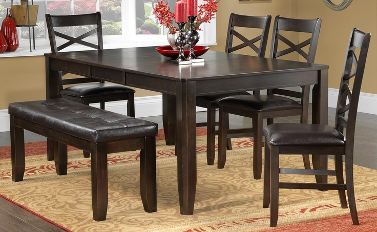 Gina Casual Dining 6 Pc. Dinette - Leons