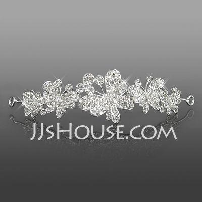 Hodepynt - $18.99 - nydelig rhinestones bryllup brude tiara / hodebånd / headpiece (042005720) http://jjshouse.com/no/Nydelig-Rhinestones-Bryllup-Brude-Tiara-Hodeband-Headpiece-042005720-g5720