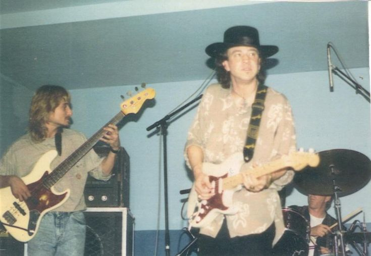 GREG RZAB AND STEVIE RAY VAUGHAN photo - SOULFUL IMPRESSIONS ...