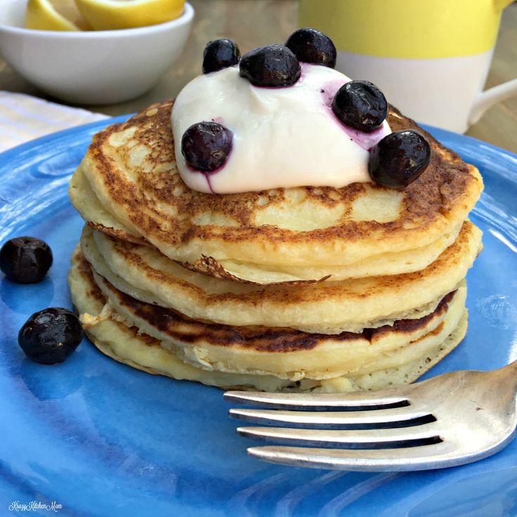 Easy Fluffy Lemon Ricotta Pancakes