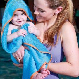 Cuddleswim aqua-oranje