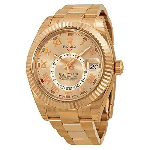 Rolex Sky Dweller Sundust Dial 18kt Everose Gold Mens Watch 326935 Rolex http://www.amazon.com/dp/B00KI6UMJK/ref=cm_sw_r_pi_dp_yBuWwb1YKTFAX