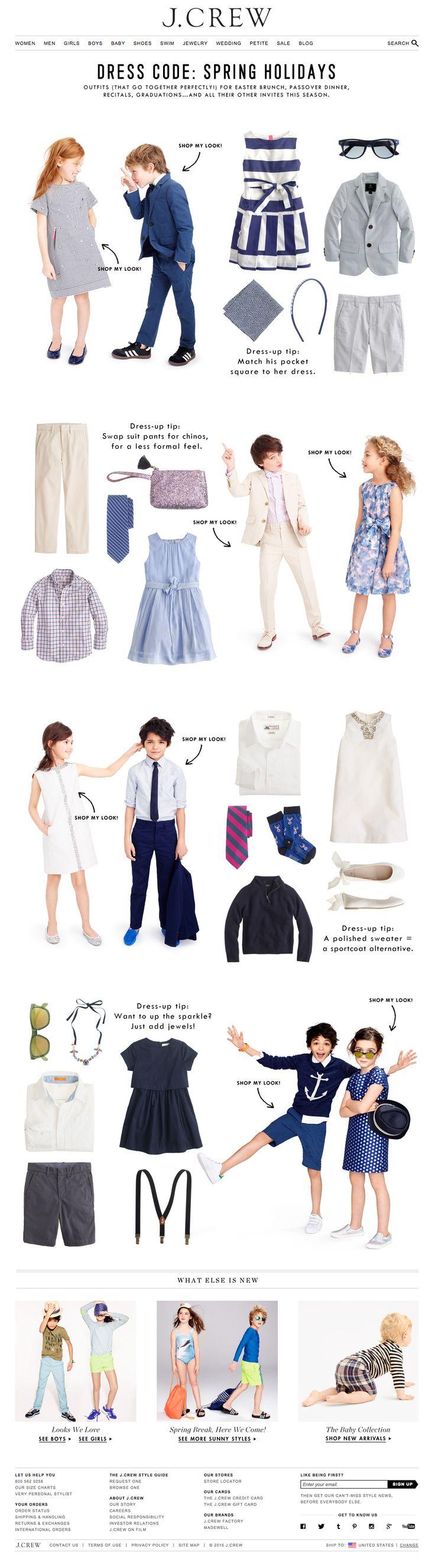 j crew dress code