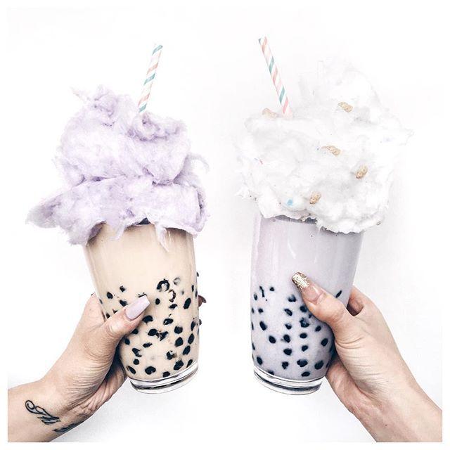 Bubble tea float, anyone? ✨ Tag a friend who loves bubble tea! @wendy_online @jnfrtang : lichipann