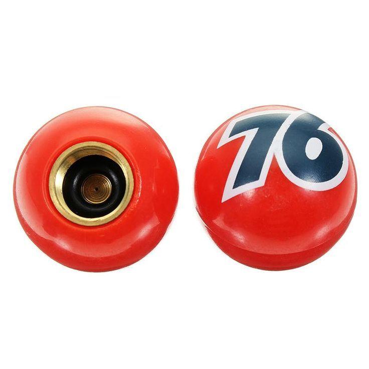 Sport Radfahren 4 Stucke Nummer 76 Kunststoff Rot Universal Reifen